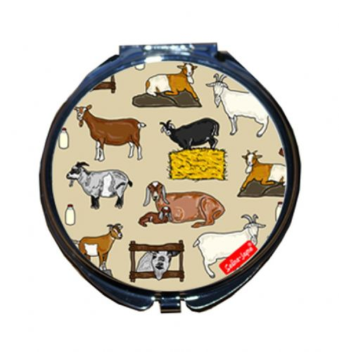 Selina-Jayne Goats Limited Edition Designer Compact Mirror